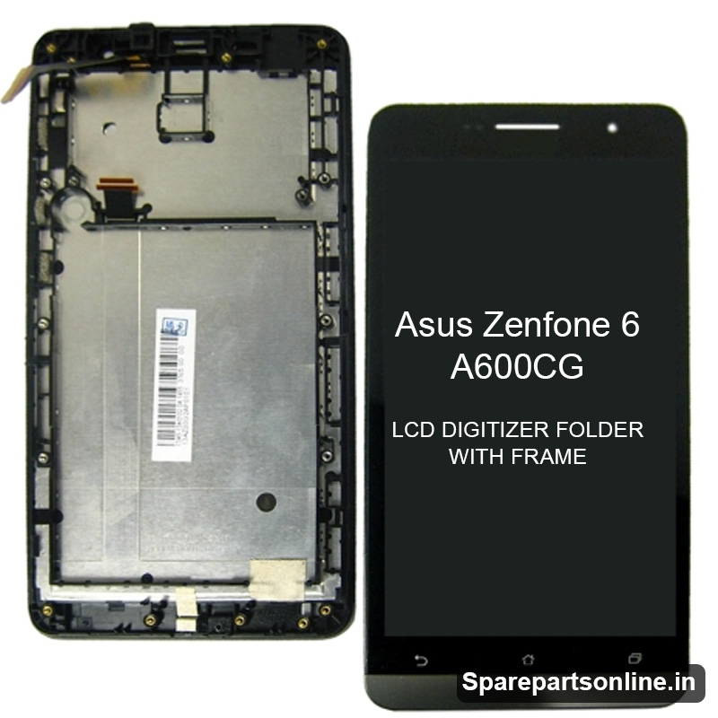 Be The First To Review Asus Zenfone 6 A600CG Black Lcd Display Screen Combo Folder With Frame And Digitizer Module Cancel Reply