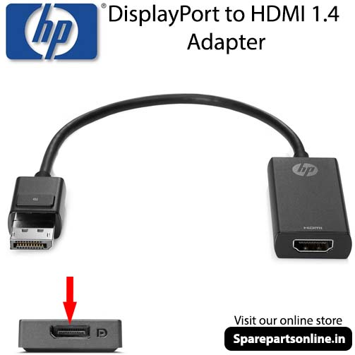HP K2K92AA DisplayPort to HDMI 1 4 Adapter Convertor Cable