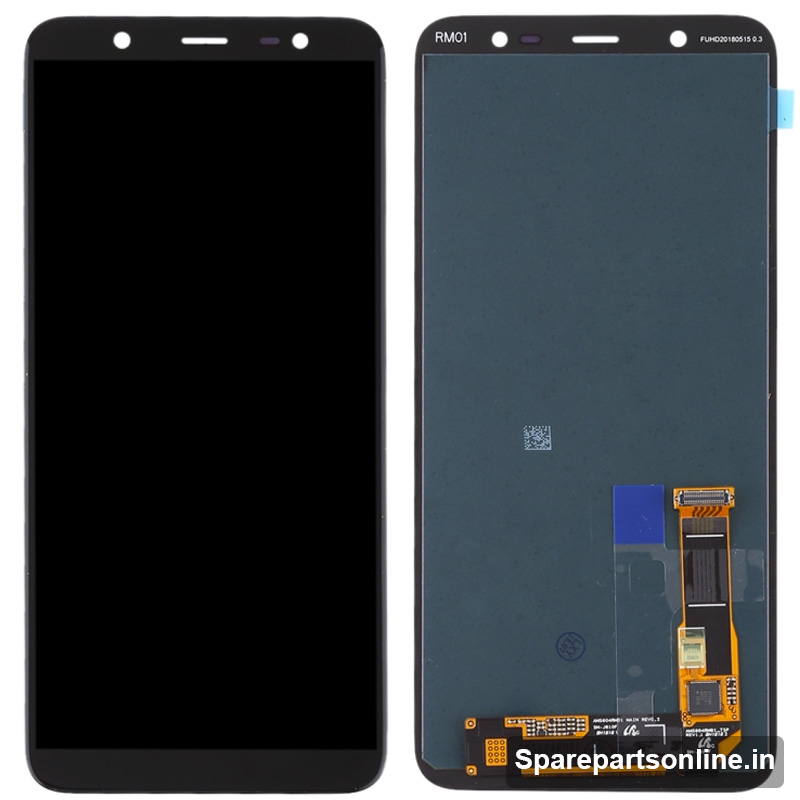 samsung galaxy a6 2018 black display lcd screen with. Black Bedroom Furniture Sets. Home Design Ideas