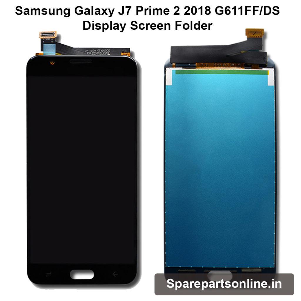 9ce81e28d Samsung Galaxy J7 Prime 2 2018 G611FF Gold Display Lcd Screen Folder ...