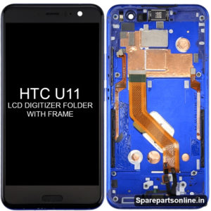 htc-U11-lcd-folder-display-screen-with-frame-dark-blue