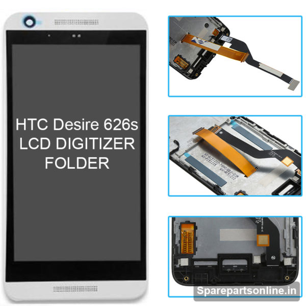 htc-desire-626s-lcd-folder-display-screen-with-frame-white