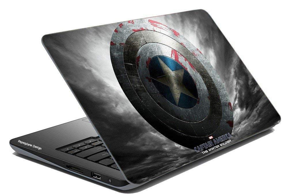 Captain America Laptop Skins Stickers Upto 15 6 Inches