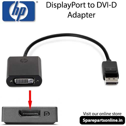 HP FH973AA DisplayPort to DVI-D Adapter Convertor