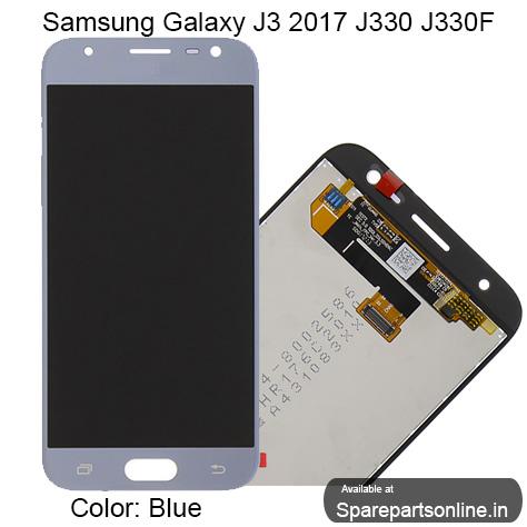 Samsung Galaxy J3 2017 SM-J330F (J3 Pro) Replacement Gold Lcd Screen  Display Combo Folder with Digitizer Glass - No Brightness Adjustment