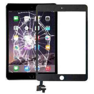 iPad-mini-4-A1550-A1538-black-touch-screen-glass-panel-digitizer-with-ic-replacement