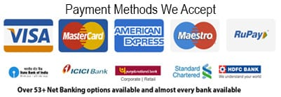 payment methods sparepartsonline